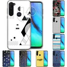 TPU Phone Case for Motorola G Stylus,G7 Play,Power,Plus,Wallpaper Funny Print