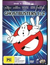 Ghostbusters 1 & 2 - Dan Aykroyd - New & Sealed Region 4 DVD - FREE POST