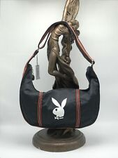 Women's Playboy Black Jersey Fashion Shoulder Bag