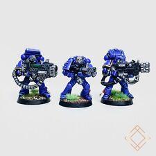 Warhammer 40k Ultramarines - Painted Devastator Squad Lot of 3 - BoxedUp