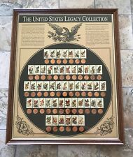 RARE ITEM American Historic Society Lincoln Penny & State Bird Stamp Collection