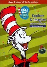 Cat in The Hat Explore & Imagine (region 1 DVD Good) 843501005415