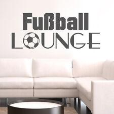 Wandtattoo Fußball-Lounge Wandaufkleber - NEU -