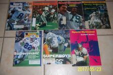 Sports Illustrated DALLAS Cowboys SUPER BOWL Set 7 V VI  XII  XXX  XXXI  XXXIII