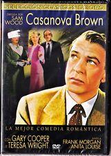 CASANOVA BROWN de Sam Wood. Gary Cooper. Tarifa plana en envío dvd España, 5 €