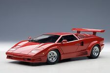 AutoArt Lamborghini Countach 25th Anniversary Edition (Red) 74534