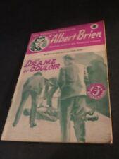 1940s ADVENTURES POLICIER ALBERT BRIEN DETECTIVE SEX MURDER FRENCH  PULP #498