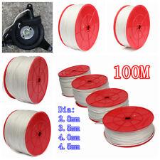 100m 2.8/3.5/4/4.5mm Nylon Pull Starter Recoil Start Cord Rope For Lawnmower AU