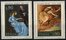 ITALIA 1975 SG # 1445-6 artisti, dipinti MNH Set #D 53068