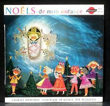 Noëls de mon enfance A coeur joie, Sceaux Monique Chouvet Pochette Gitta Mallasz