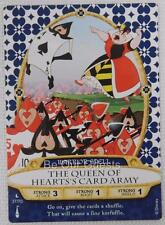 Disney Sorcerers of the Magic Kingdom Card 37 The Queen Heart's of Card Army New