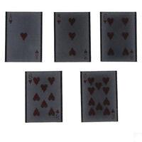1Pc Funny Plastic Card Vanish Illusion Change Sleeve Close-Up Magic Trick