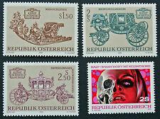 AUTRICHE timbre - Yvert et Tellier n°1236 à 1239 n** stamp Austria (cyn5)