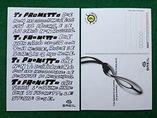 6106 Advertising Pubblicita' Cartolina Card adesiva 15x10 cm - BREIL