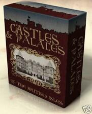 CASTLES & PALACES of BRITAIN 42 Vintage Books on DVD Stately Homes Architecture