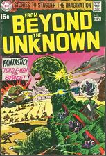 From Beyond The Unknown 1 Turtle-Men of Space 1969 DC Comics Sci-Fi Fantasy Key