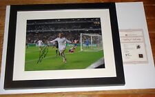 Gareth Bale SIGNED 16X20 FRAMED Photo Real Madrid Final Goal Soccer A1 Coa