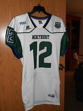 NWOT RUSSELL MERCYHURST LAKERS GAME ISSUED FOOTBALL JERSEY XL BIG HOUSE BATTLE