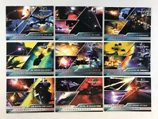 BABYLON 5 THE COMPLETE Rittenhouse 2002 Complete CLASSIC CONFRONTATION Card Set