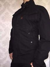 G STAR RAW ZERO overshirt/jacket, size XXL, black combat ripstop, NEW