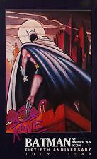 Bob Kane 50th Aniversary Batman Poster