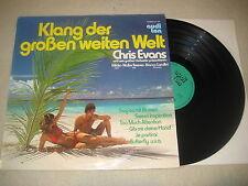 Chris Evans - Klang der großen weiten Welt   Vinyl  LP