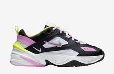 New Nike Women's M2K Tekno Shoes (CI5772-001)  Black/Metallic Silver-Pink Rise