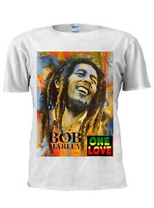 Bob Marley One Love T Shirt Jamaican Reggae Trendy Tee Men Women Unisex Tee M793