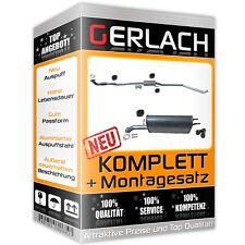 Auspuff Chevrolet Spark 1.0 und 1.0 Bi Fuel ab 03/2010 Auspuffanlage *4888