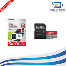 Class 10 Ultra 64GB San Disk 100MB/s Micro SD SDHC Memory Card UHS-I
