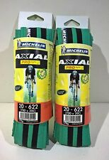 COPPIA COPERTONI MICHELIN AXIAL PRO LIGHT VERDE/NERO 700X20C CORSA