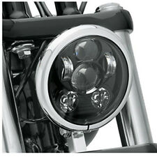 """Motos Accessories 5.75 Led for Harley 5-3/4"""" Motorcycle Black Projector Daymaker"""