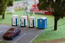 Faller Figurines H0, Mobile Cabines de Toilette, Miniatures 1:87, Art.180543