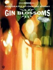 Gin Blossoms : Congratulations I'm Sorry Songbook Sheet Music Song Book