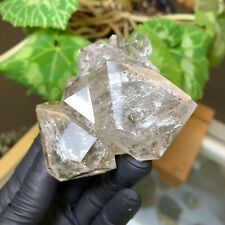 Herkimer Diamond 6+ Crystal Cluster w/ Excellent Clarity and Beautiful Rainbows