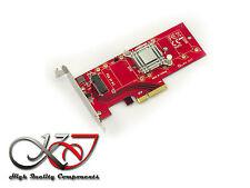 Gamme Pro - Carte PCIe 3.0 4x - M.2 PCIe 3.0 / PCIe-AHCI low+high pro- RADIATEUR