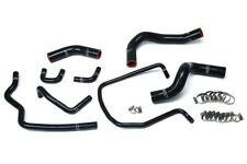 HPS Black Reinforced Silicone Radiator Hose Kit Coolant for Nissan 04-14 Titan