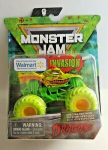 Hot Wheels 2020 Monster Jam Zombie Invasion  Dragon    Walmart Only 1:64th