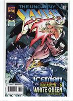 Uncanny X-men #331 Joe Madureira Iceman Emma Frost deluxe variant 9.4