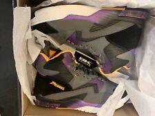 British Knights Dymacel Control Mid Size 11Sneakers Gray/black /purple/ Yellow