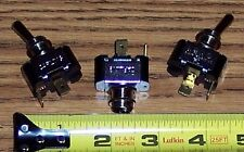 LOT OF 3 ~ CARLING TOGGLE SWITCHES  ON / OFF SINGLE THROW 2 TERMINAL