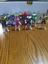1996,1997 Power Rangers Mixed Lot Of  8 Rangers & Villans Bandi