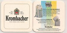 """New listing KROMBACHER-Old Beermat """"Formula 1 Collection-Match-Bag"""""""