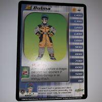 DBZ Dragon Ball Z CCG Bulma Level 2 NM Limited Frieza Saga