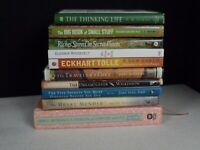Lot of 10 Personal Growth / Inspiration / Self-Help Books ~Free Shipping