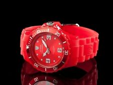 Luxury Matte Silicone/Rubber Band Wristwatches