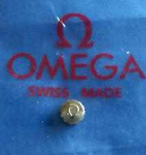 Omega rose gold watch crown new 6mm wide, 3mm depth.