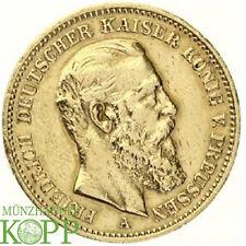 Z905) J.248 PREUSSEN 20 Mark 1888 A - Friedrich III. 1888 - Gold