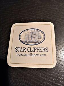 BIERDECKEL STAR CLIPPERS FLENSBURGER EXPORT NEU! ~