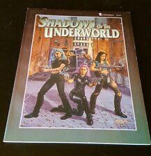 Shadows Of The Underworld: Shadowrun Adventures - FASA #7323 urban RPG 1996